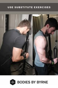 Progressive overload not working? use substitute exercises