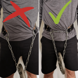 How to use a dip belt
